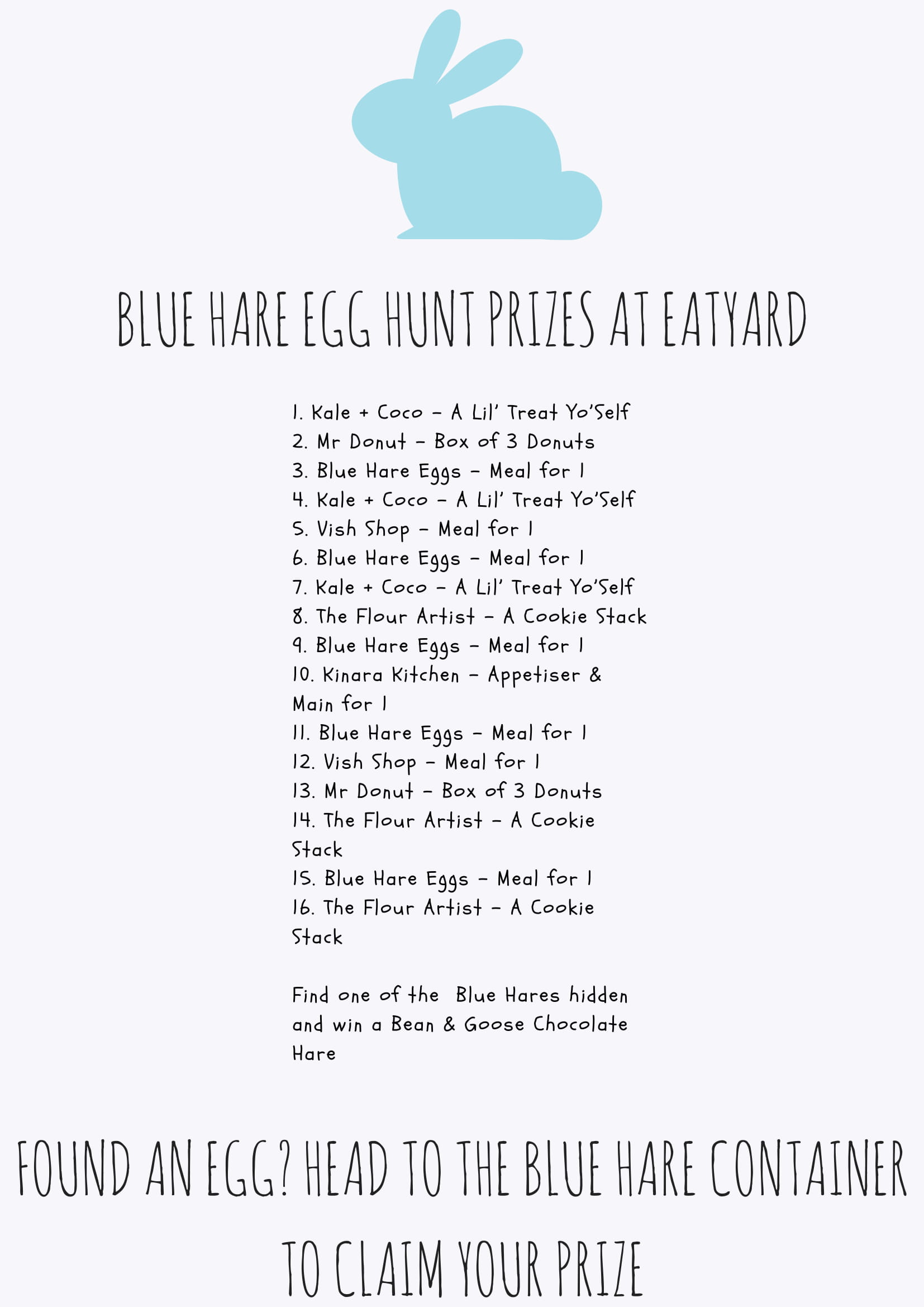 Blue Hare Poster-1