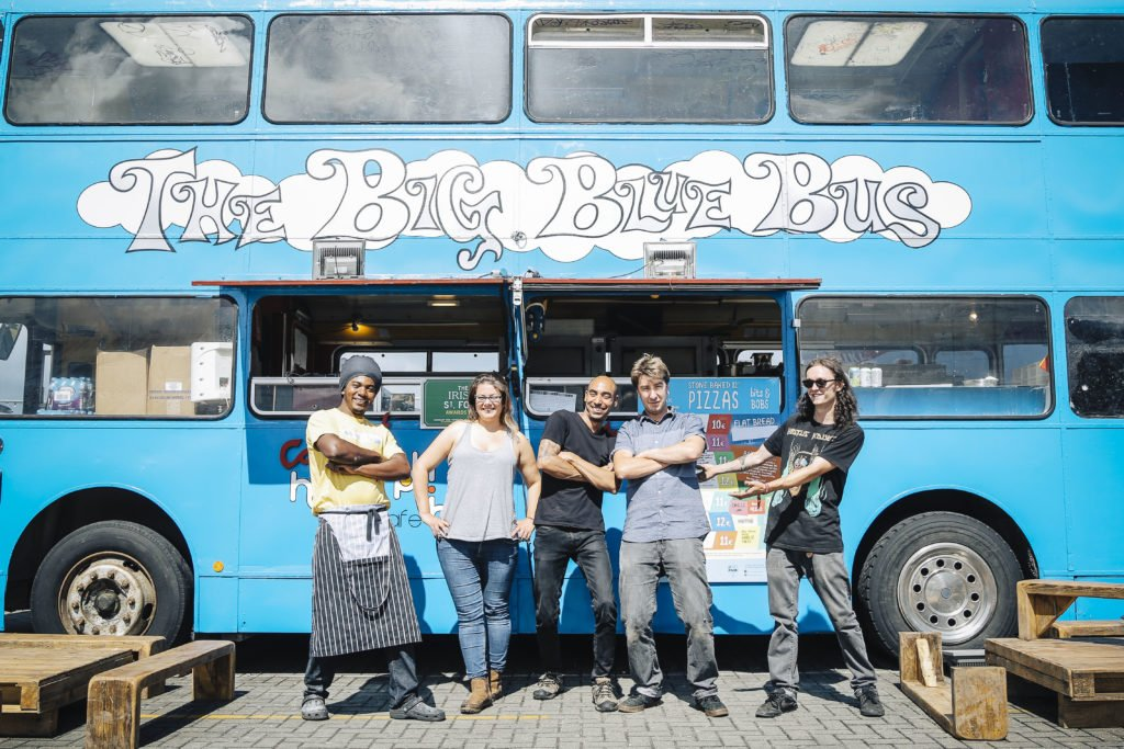 The Beatyard Festival - The Big Blue Bus