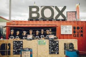 BoxBurger Food Promo