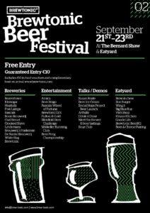 Brewtonic Beer Festival Poster-01