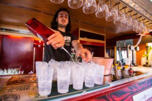 Gin Fusion Adam Pouring Beefeater